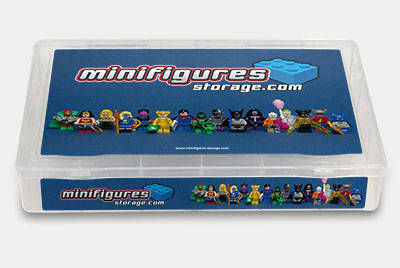 DC Super Heroes Minifigures Storage Box