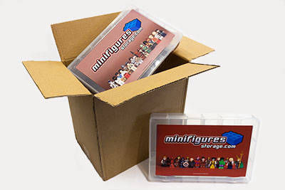 Fan Requested Minifigures Storage Boxes