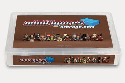Lord of the Rings Minifigures Storage Box